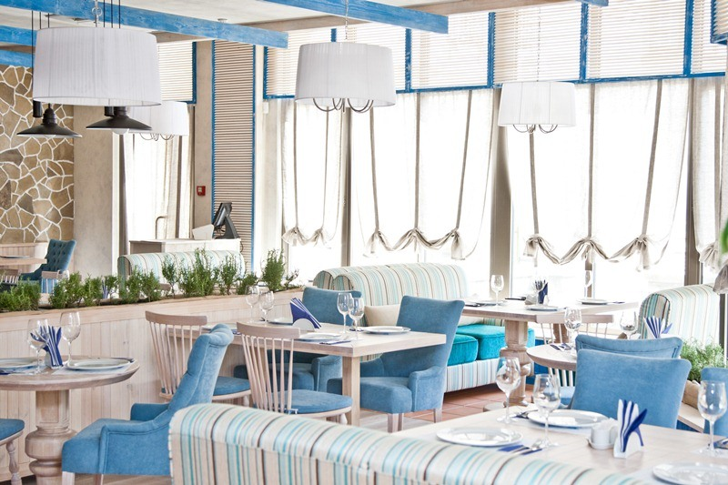 Ресторан морской интерьер